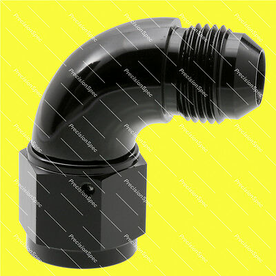 AN8 8AN JIC Black Male to Female 90 Degree Fitting Adapter W/ 1Yr Warranty