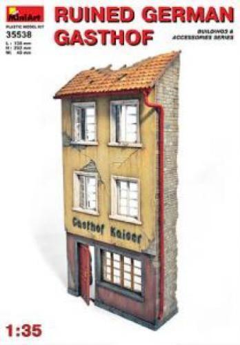 KITS KITS KITS MODELOS 1  3 5 miniart en ruinas Alemán GASTHOF Building 35538 984798