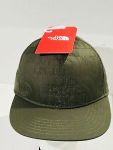 THE-NORTH-FACE-Quilted-Embroidered-Ball-Cap-Adjustable-Sz-Baseball-Hat-NEW-NWT