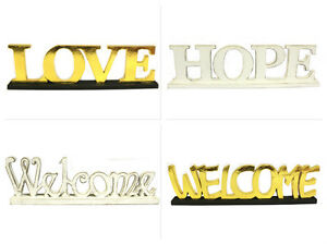 Image Is Loading Free Standing Wooden Words Sign Letters Party Office