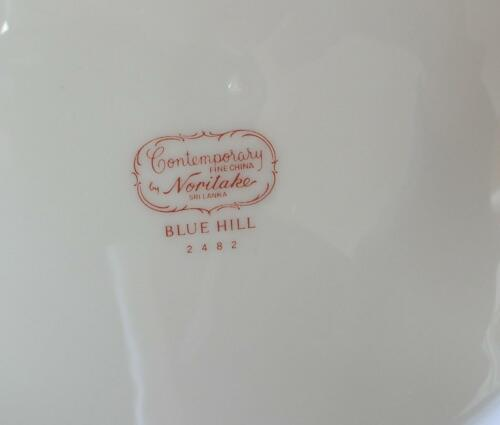 2482 Noritake BLUE HILL REPLACEMENT SAUCER for TEACUP Contemporary China Pat