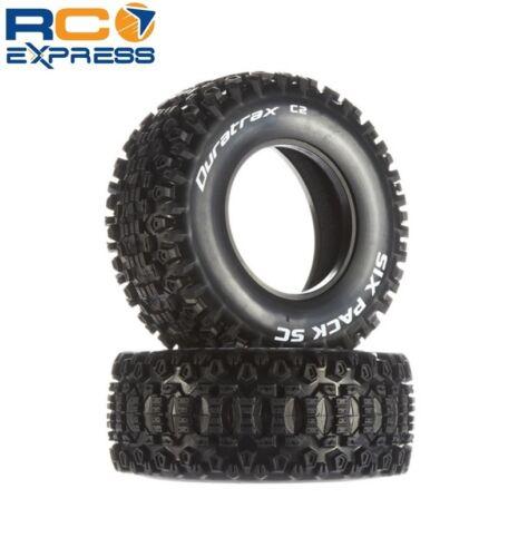 2 DTXC3788 Duratrax Six Pack SC Tires C2