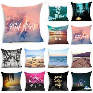 Soft-Beach-Word-Cotton-Linen-Throw-Pillow-Case-Sofa-Car-Cushion-Cover-Home-Decor