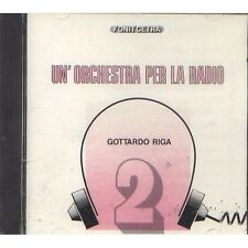 GOTTARDO RIGA - Un'orchestra per la radio - LAURO MOLINARI CD SIGILLATO SEALED