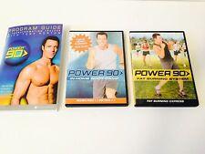 BEACHBODY - Tony Horton - POWER 90 Aerobic BOOT CAMP DVD SET 3 DVD SET 6 WORKOUT