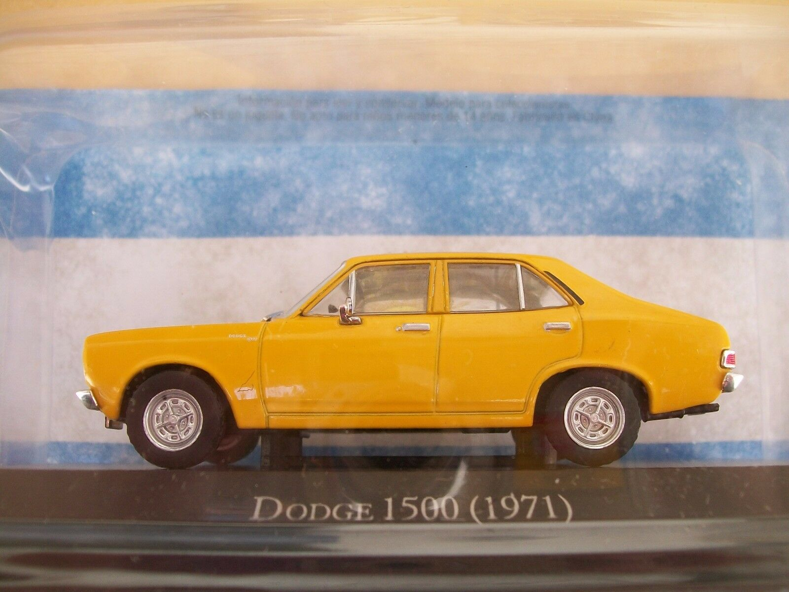 DODGE 1500 1971 - silverINA diecast 1 43
