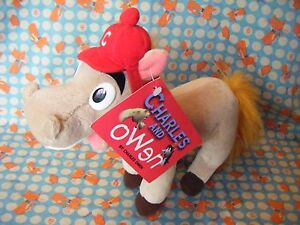 HORSE-PONY-SOFT-TOY-BY-CHARLES-AND-OWEN-BY-METRO-WITH-TAG-9-034-APPROX