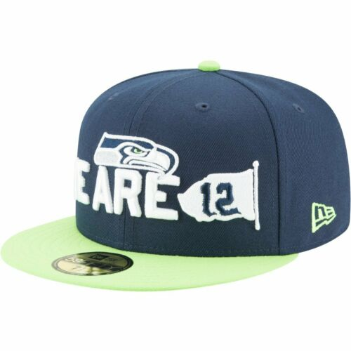 NFL 2018 DRAFT Seattle Seahawks New Era 59Fifty Cap
