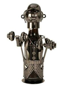 Bier-Flaschenhalter-Bodybuilder-Beruf-Metall-Geschenk-Geburtstag