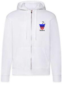 Russia-Football-Comet-Zipper-Hoodie-Russische-Soccer-Flagge-Fussball-Russland