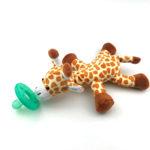 NEW FREE SHIPPING WubbaNub Infant Pacifier Giraffe