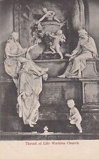 CG61.Vintage Postcard. The Thread of Life. (Moirai). Warkton Church.