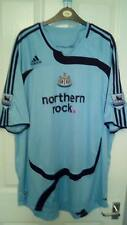 BNWOT NEWCASTLE UNITED AWAY SHIRT NZOGBIA 14 ON BACK PREMIER LEAGUE PATCHES 2XL