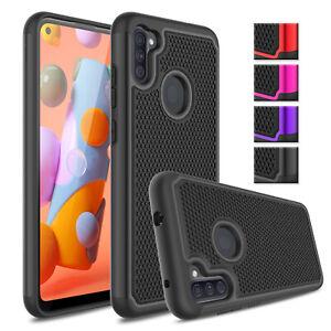 Pour-Samsung-Galaxy-A11-Phone-Case-antichoc-hybride-Rugged-Hard-Housse-de-protection