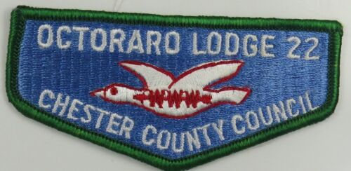 OA Lodge 22 Octoraro S9 Flap; Green Border H058