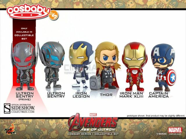 Sideshow Avengers Age of Ultron Cosbaby Set da collezione