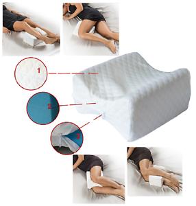 Cuscino Ortopedico per le gambe ergonomico  MEMORY COMFORT LEGS bacino schiena