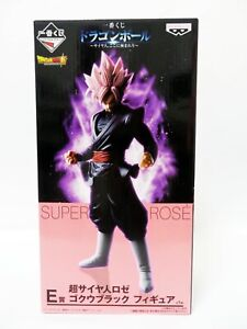 Dragon Ball super Goku//Gokou Black Rose BANPRESTO Prize Figure from JAPAN