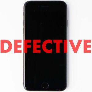 DEFECTIVE Apple iPhone 7 Smartphone (A1660) - 32GB / Black