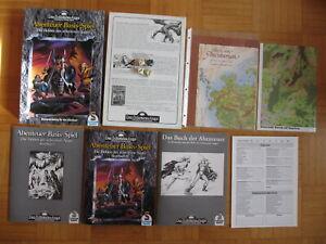 DSA Box Abenteuer Basis-Spiel komplett - DIE HELDEN DES SCHWARZEN AUGES 1992