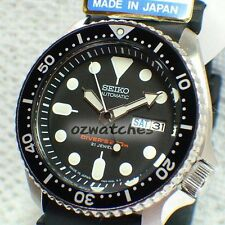 SEIKO AUTOMATIC DIVER 200M MENS WATCH SKX007 SKX007J1 BLACK JAPAN MADE WITH BOX