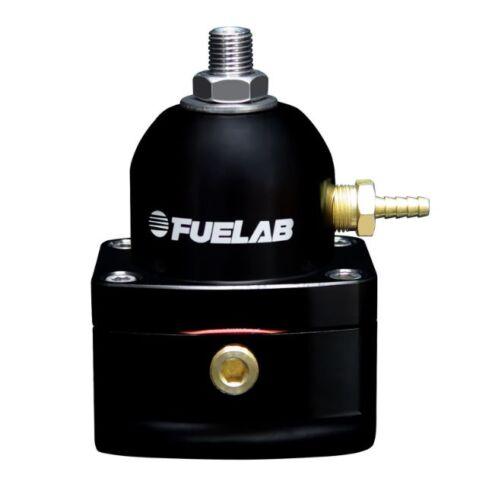 51502-1 * Fuelab 515 Series Fuel Pressure Regulator Black Anodized 25-90 psi