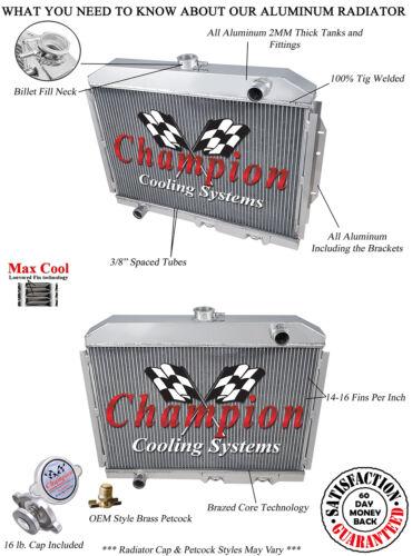 70 71 72 73 74 75 76-78 AMC Gremlin A//C Heavy Duty 3 Row Champion WR Radiator