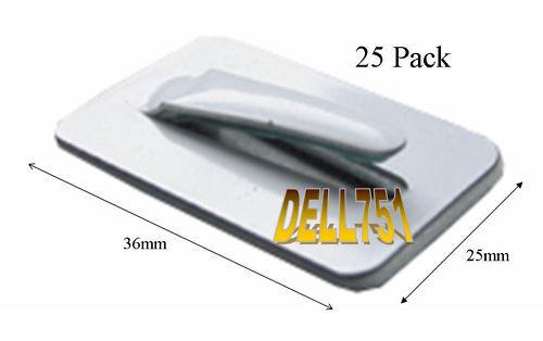 loom Clip  Pack of 25        SA2 Self adhesive Wiring