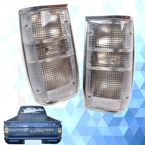 For 1986-1997 Mitsubishi L200 Pickup Animal Chorme Rear Tail Light Lamp