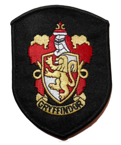 Harry Potter House of Gryffindor Robe Iron-on//Sew-on Embroidered PATCH