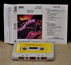 ERUPTION-ERUPTION-Cassette-Tape