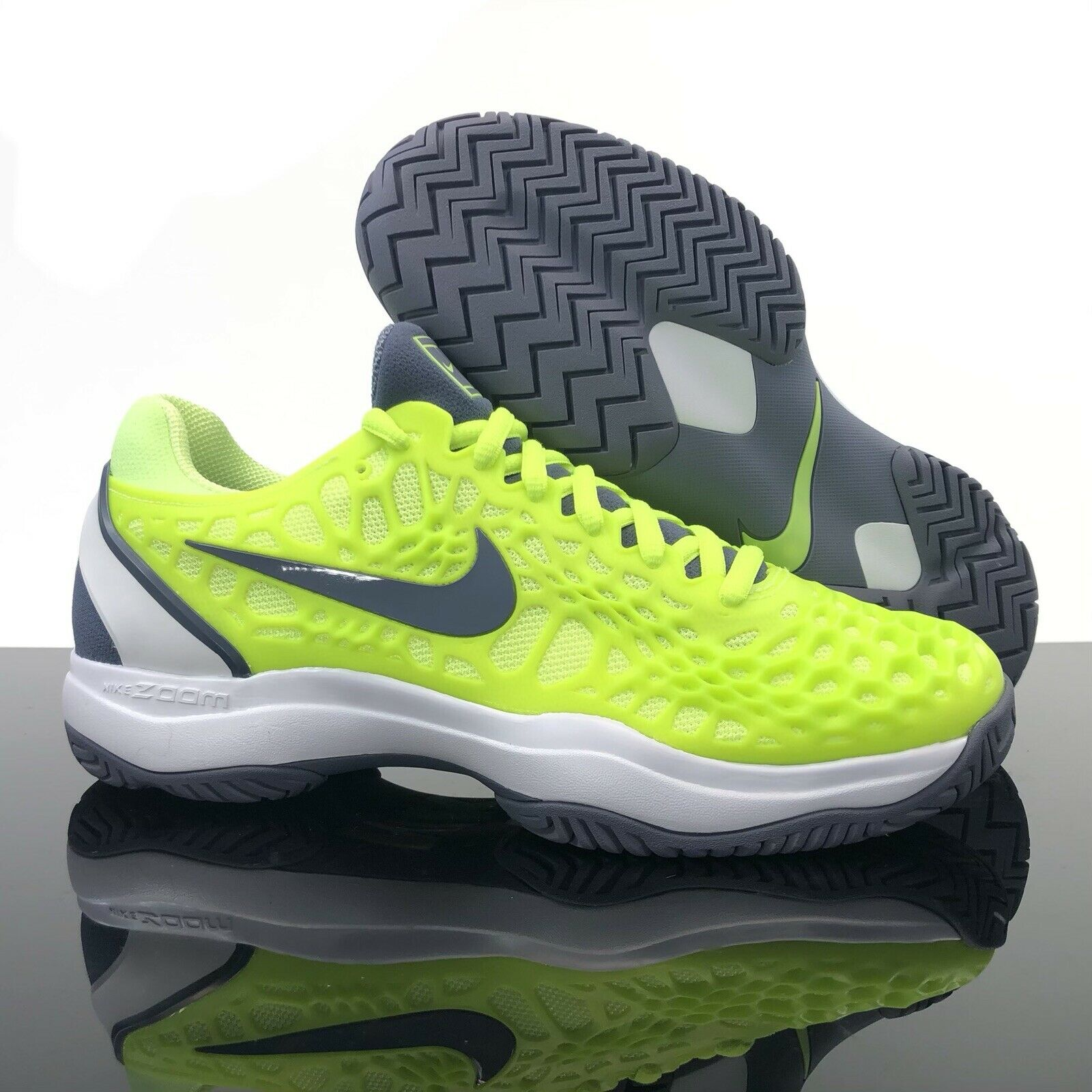 Nike Air Zoom Cage 3 Hc Rafael Nadal Tennis Shoes 918193 800 Men S Size 9 For Sale Online Ebay