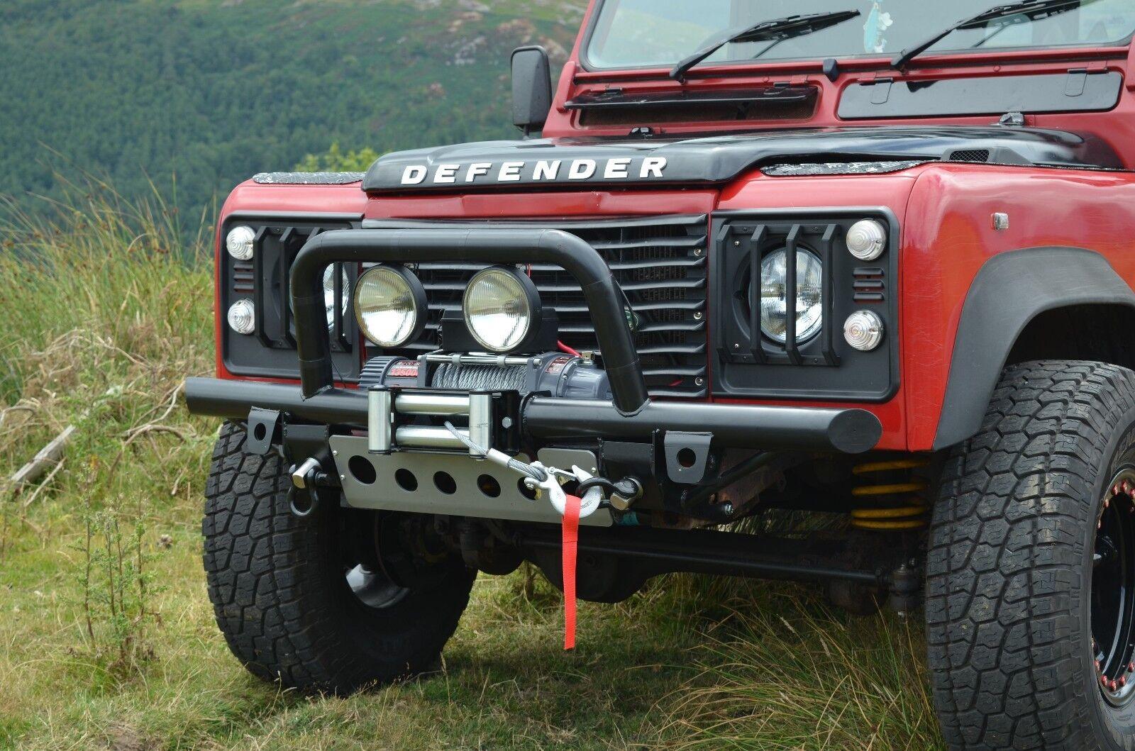 Head Light Lamp Grill Guards Land Rover Defender 90 110 130 Headlight Guard