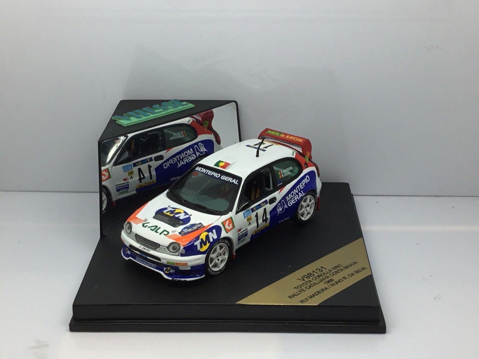VITESSE V98131 TOYOTA CgoldLLA WRC RALLYE CATALUNYA COSTA BRAVA 1998