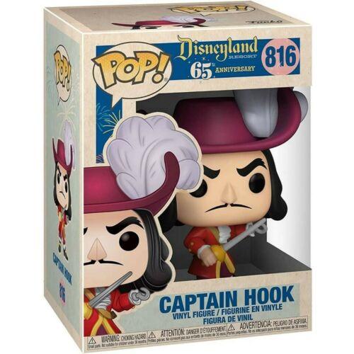 Funko Pop Vinyl Disney 65th Anniversary Captain Hook #816 Order Confirmed