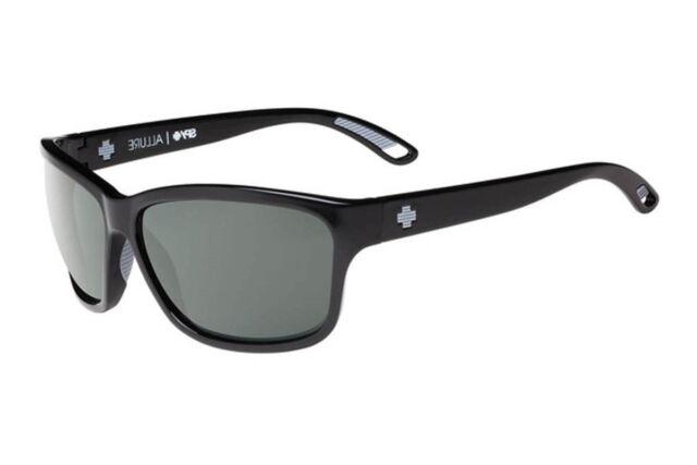 1f6818ffe2 Spy Allure Black Sunglasses Happy Grey Green Polarized Lens for sale ...