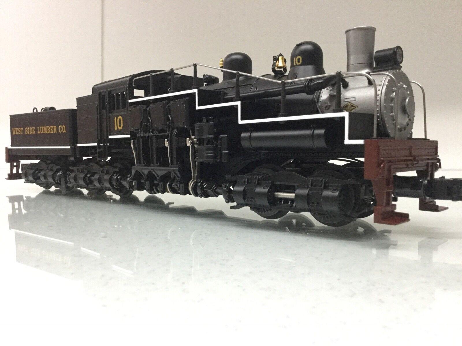 Lionel 6-28022 West West West Side Lumber Shay Steam Engine w Tender O  Scale 3 Rail b5643d
