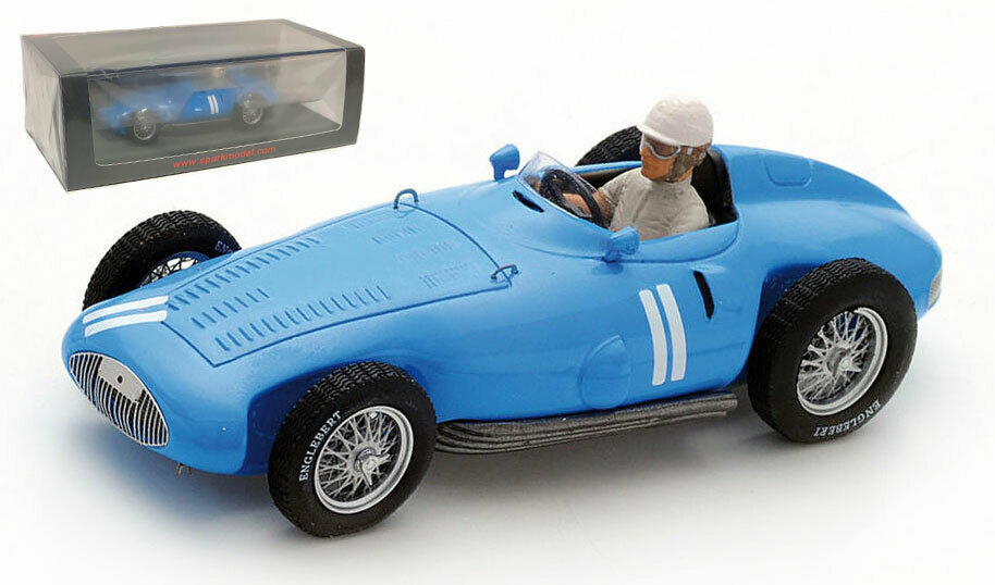 Spark S5314 Gordini T32 German GP 1956 - Andre Milhoux 1 43 Scale