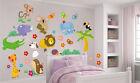 Animaletti adesivi murali stickers cameretta bambini decoro pareti o mobili