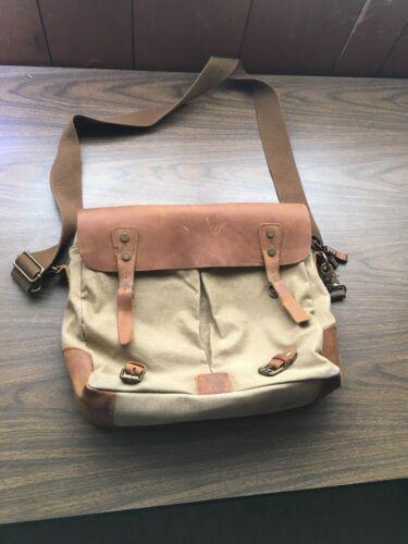 "ECOSUSI Unisex Vintage Canvas Leather 16"" Laptop M"