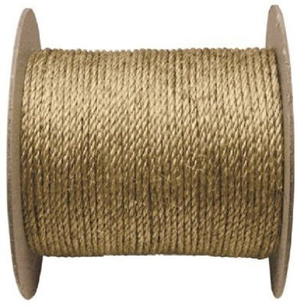 NEW WELLINGTON 28776 3 4  X 600' LARGE SPOOL MANILA NATURAL ROPE 6691414