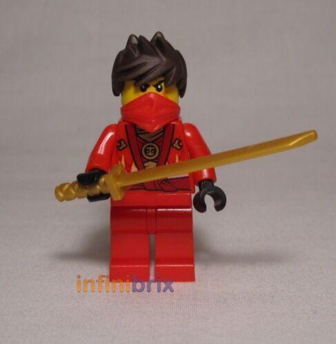 Lego Kai Rebooted Red Ninja from set 70721 Kai Fighter Ninjago BRAND NEW njo091