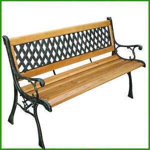 Sedie E Panche Da Giardino.Panchina Da Giardino In Legno E Ghisa Arredamento Stile Antico Panca