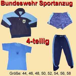 4a8a2329c8 Das Bild wird geladen Original-Bundeswehr-Sportanzug-4-teilig-Trainingsanzug -Jacke-Hose-