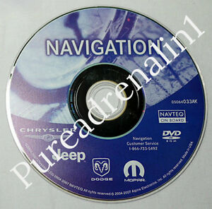 2012-UPDATE-05064033AK-2004-2007-CHRYSLER-300-RB1-REC-NAVIGATION-MAP-CD-DVD-DISC