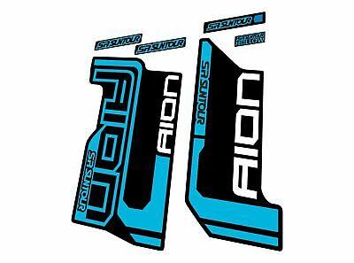 Suntour EPIXON TR 2015 Forks Suspension Decals Sticker Adhesive Blue