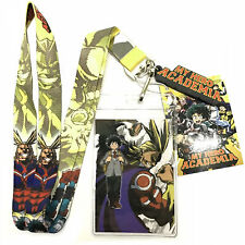 GTOTd My Hero Academy Lanyard with ID Badge Holder Durable Premium Quality Kid Lanyard with id Holder.Gifts My Hero Academie Merch Party Supplies Toys for Fans/ 2 Pack