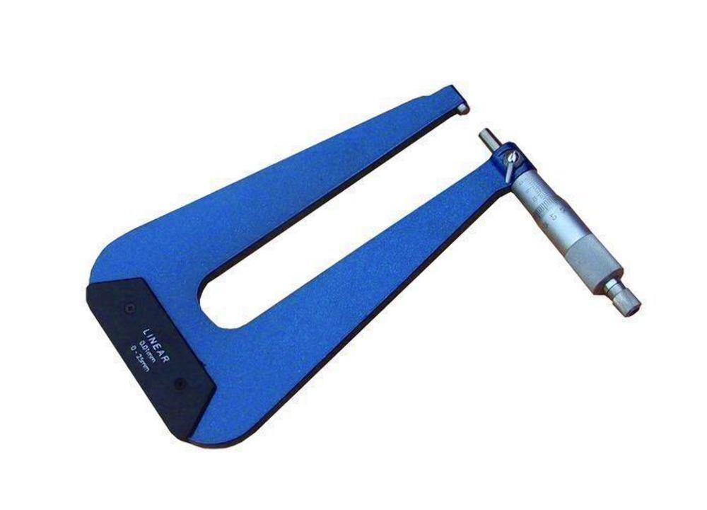 Tief Hals Mikrometer Mikrometer Mikrometer Din 863 -0-25 mm - Geradelinig Code: 50-195-025 3 Links bd9493