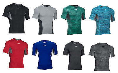 UNDER ARMOUR AUTHENTIC COOLSWITCH COMPRESSION MEN/'S BLACK T-SHIRT SIZE XXL