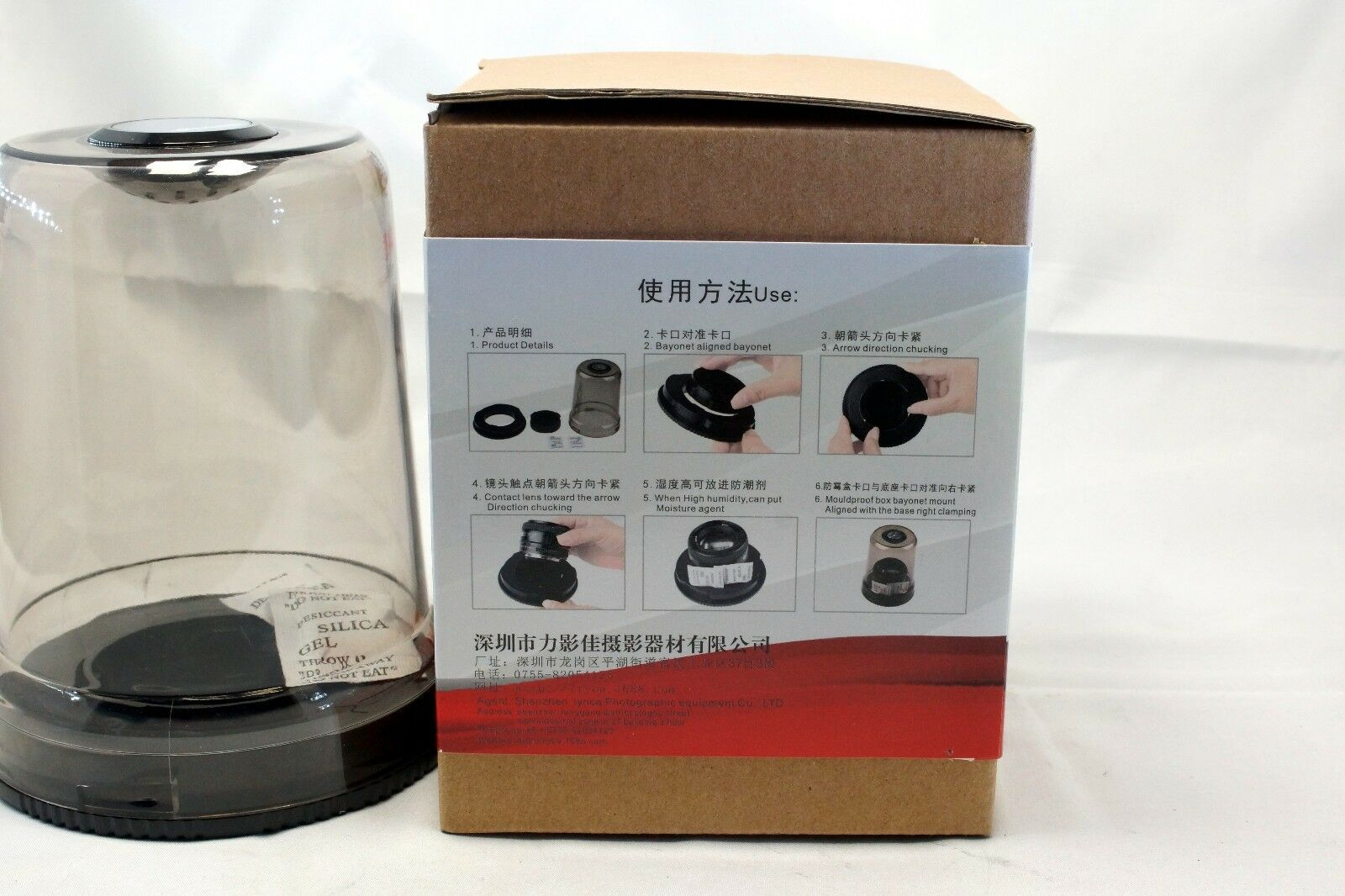 Mold Fungus Dust Moisture Proof Protective Lens Case Bubble for Canon EF -S EOS